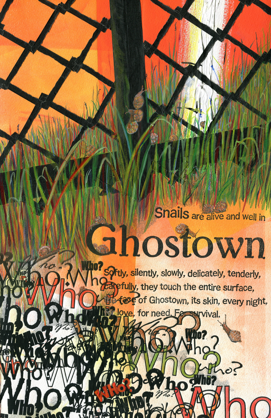 "detail from ""Ghostown."""