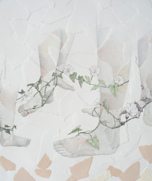 "Kim Vanderheiden, detail from ""Pando"" (2016)"